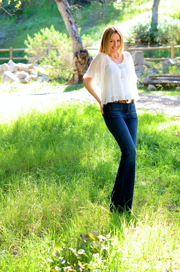Flared Jeans Trend 2015