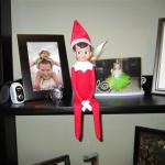 Meet Kringle our Elf on the Shelf