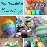 12 Ideas For Dying Beautiful Easter Eggs