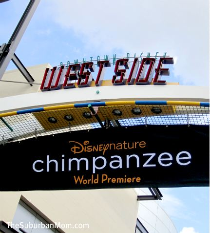 Disneynature Chimpanzee Premier