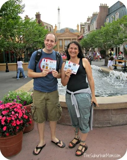 Completed Epcot Passports