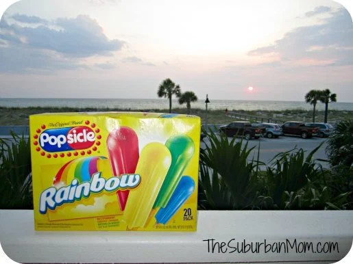 Popsicle Beach Sunset