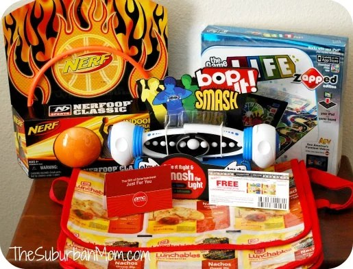 Lunchables Never Be Bored Again Hasbro AMC giveaway