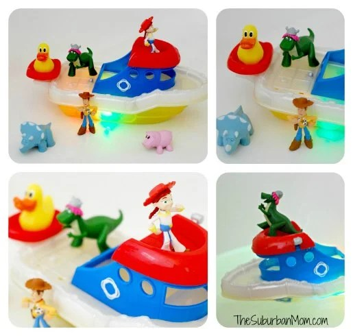 Toy Story Disney Partysaurus Rex Color Changing Splash Boat