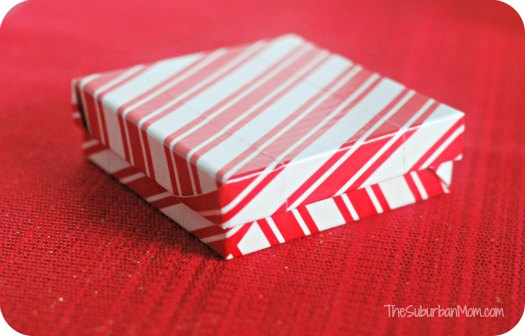 Duck Duct Tape Gift Box Christmas Craft