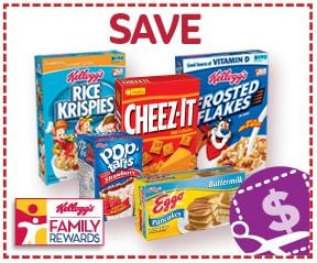Kelloggs Family Rewards Free Codes