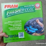 How To Clean The Air Inside Your Car With Fram Fresh Breeze