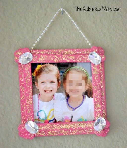 Popsicle Stock Picture Frame Pink