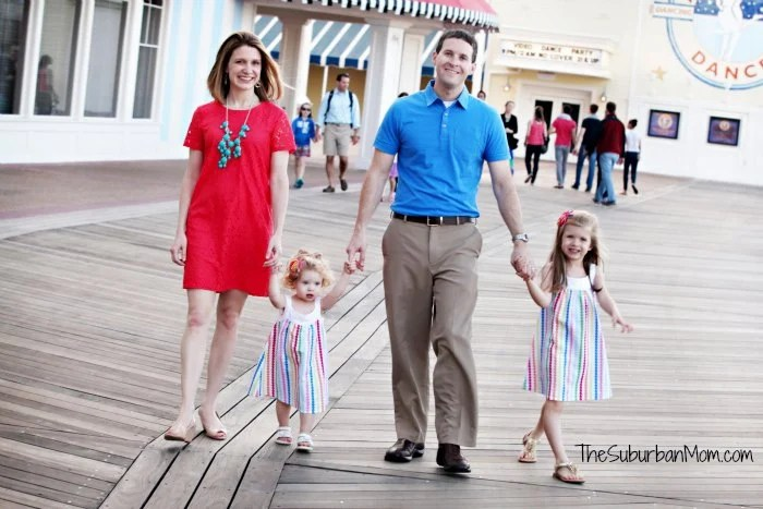 The Suburban Mom Family Disney Boardwalk
