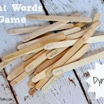 DIY Sight Words Game Made From Popsicle Sticks
