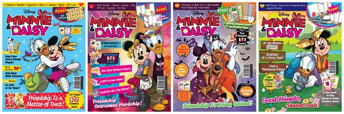 Disney's Minnie & Daisy Best Friends Forever Magazine