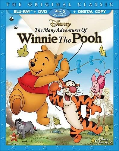 Many Adventures of Winnie The Pooh Disney