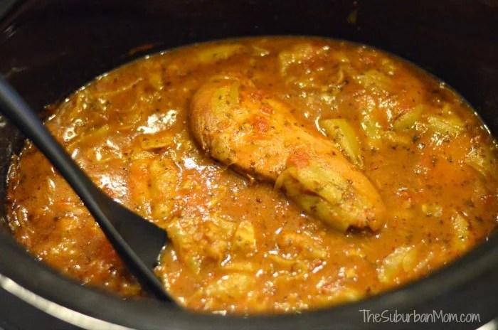Chicken Cacciatore Crock Pot