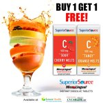 Superior Source Vitamin C BOGO Sale ~ Giveaway
