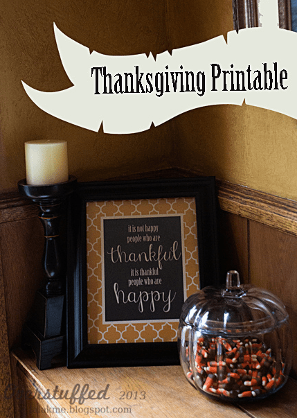 Thanksgiving Free Printable Sign 8