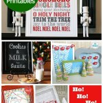 12 Free Christmas Printables – Tags, Signs & More