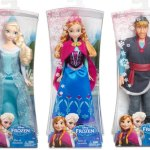 Disney's Frozen Fashion Dolls – Anna, Elsa & Kristoff ~ Giveaway