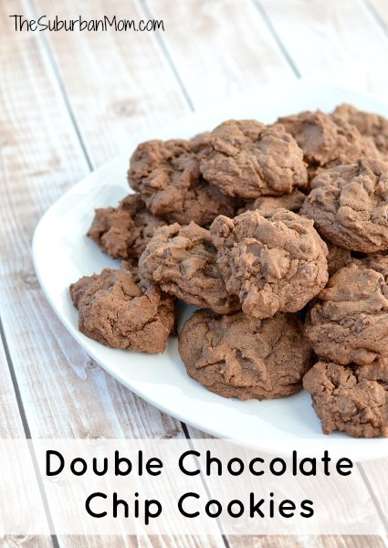 Double Chocolate Chip Cookies 2