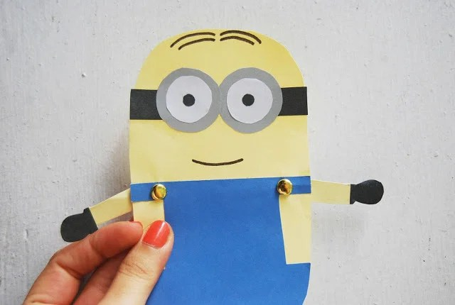 Minion Paper Doll Craft