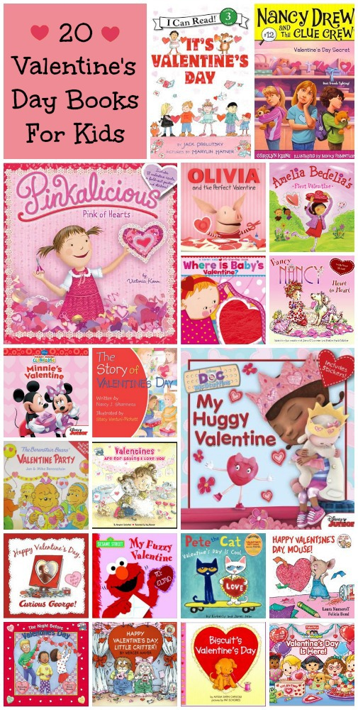 20 Valentine's Day Kids Books