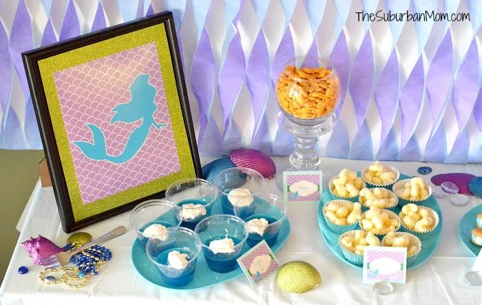 Little Mermaid Birthday Printables