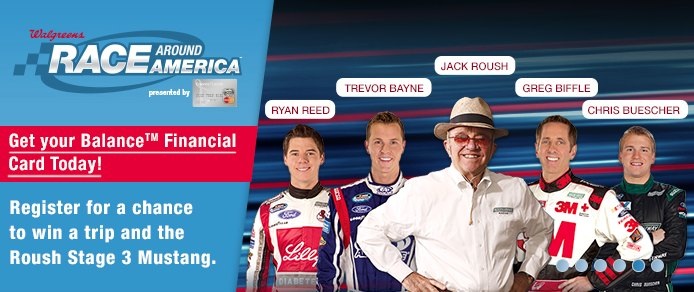 Race Around America Walgreens