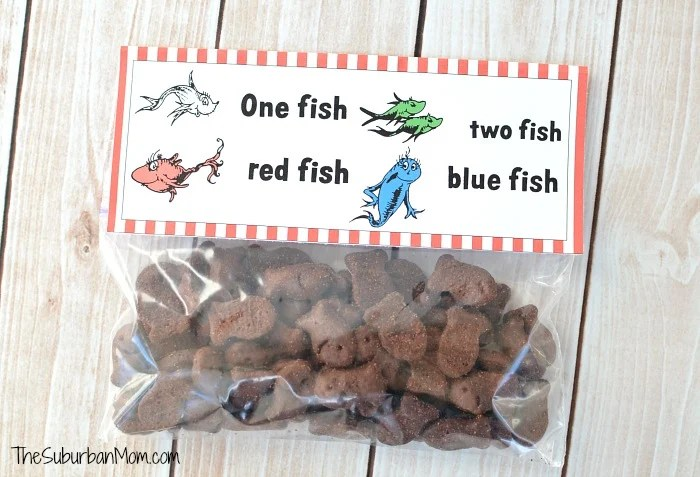 Dr Seuss One Fish Two Fish Red Fish Blue Fish Free