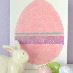 DIY Easter Egg Canvas