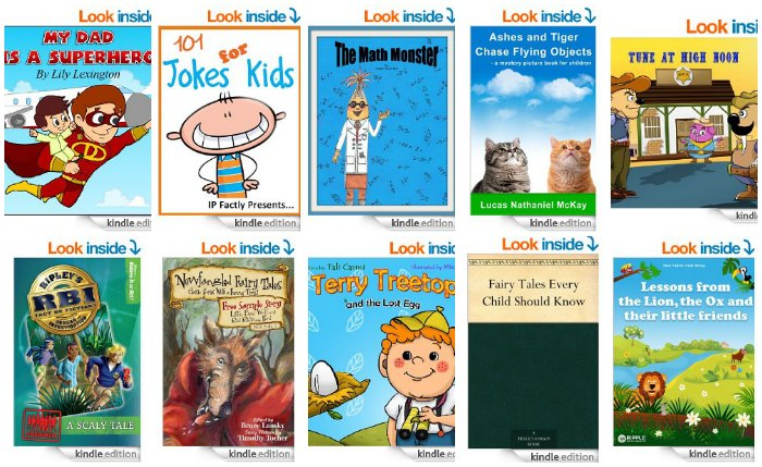 10 Free Children's Kindle eBooks April 15, 2014