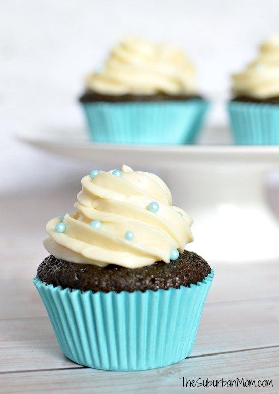 Blue Velvet Cupcake
