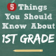 5 Things You Should Know About First Grade Common Core