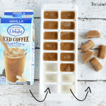 DIY Coffee Ice Cubes For Iced Coffee