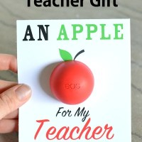 An Apple For The Teacher - EOS Teacher Gift
