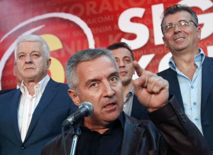 Milo Djukanovic wants his tiny country to join NATO and defy Russian influence