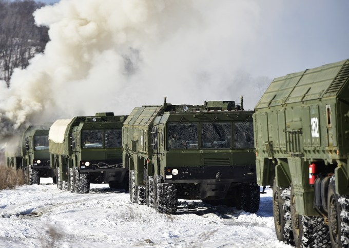 Russian troops are well trained