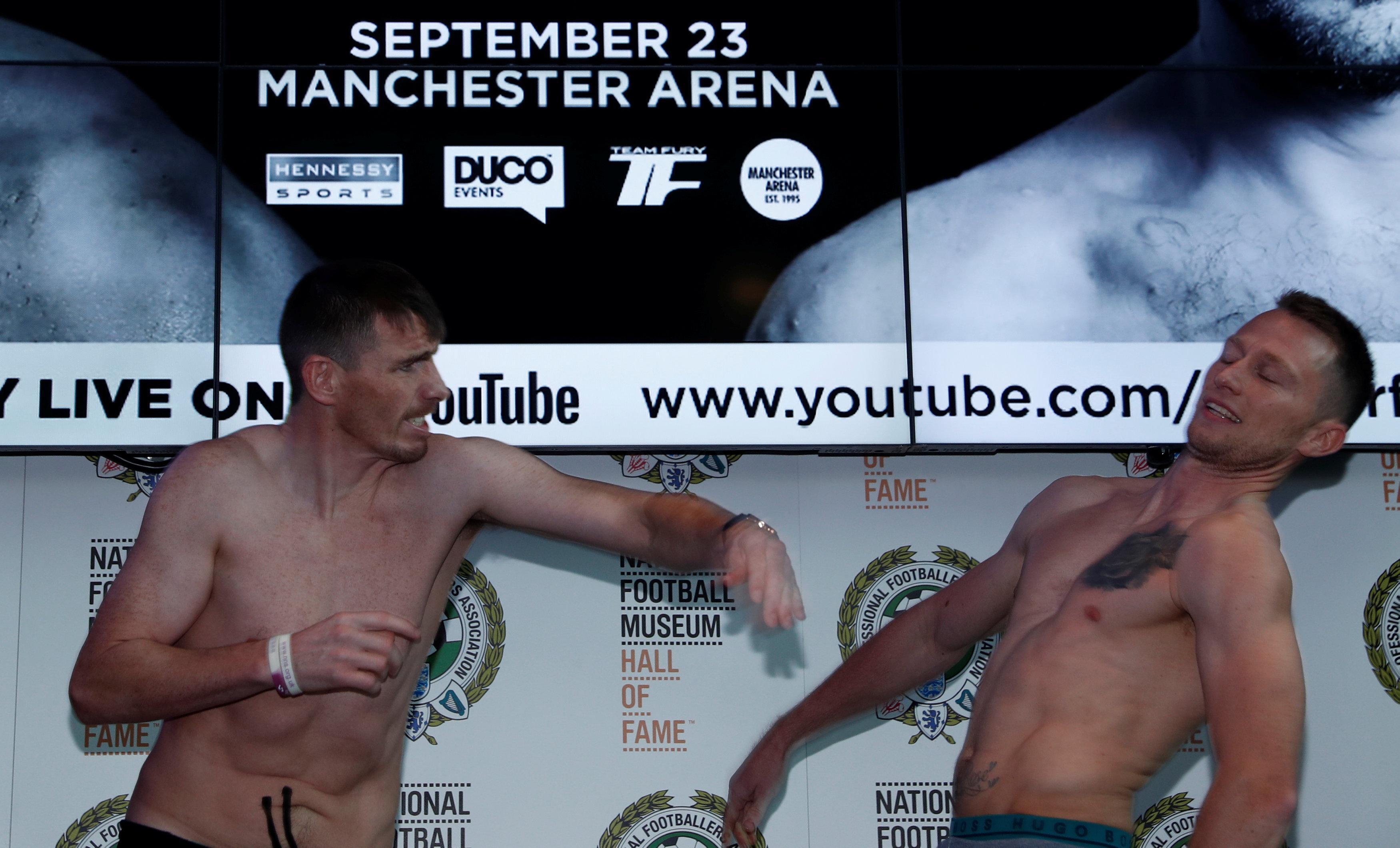 Peter Mcdonagh Lands Punch On Rival Shayne Singleton At