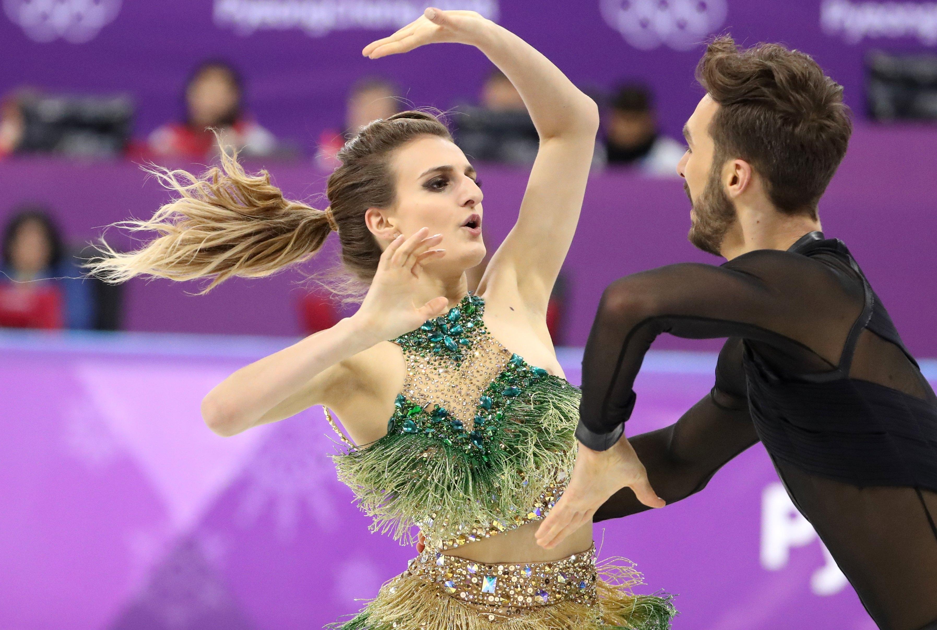 Winter Olympics 2018 Ice Dancer Gabriella Papadakis
