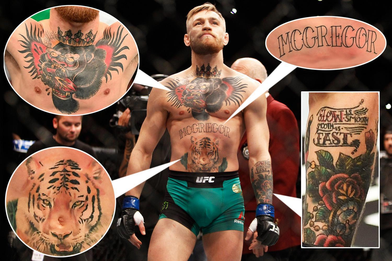 Manny Pacquiao Quotes Wallpaper Conor Mcgregor S Tattoos How Many Does The Ufc Superstar