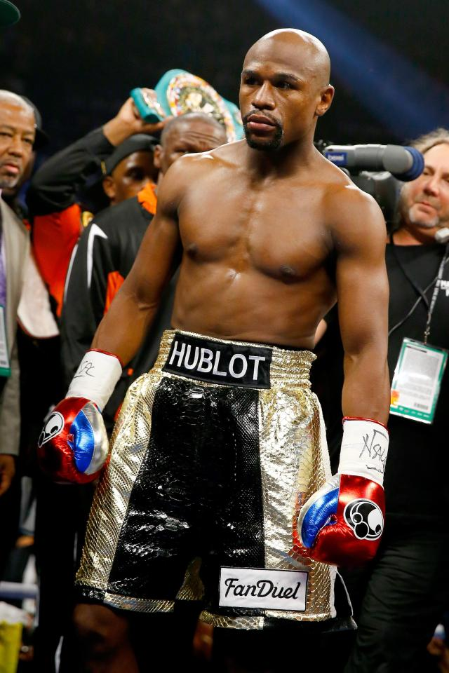 Floyd Mayweather's camp have agreed to a fight