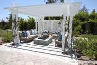 Outdoor Pergola and Fire pit - The Sunny Side Up Blog