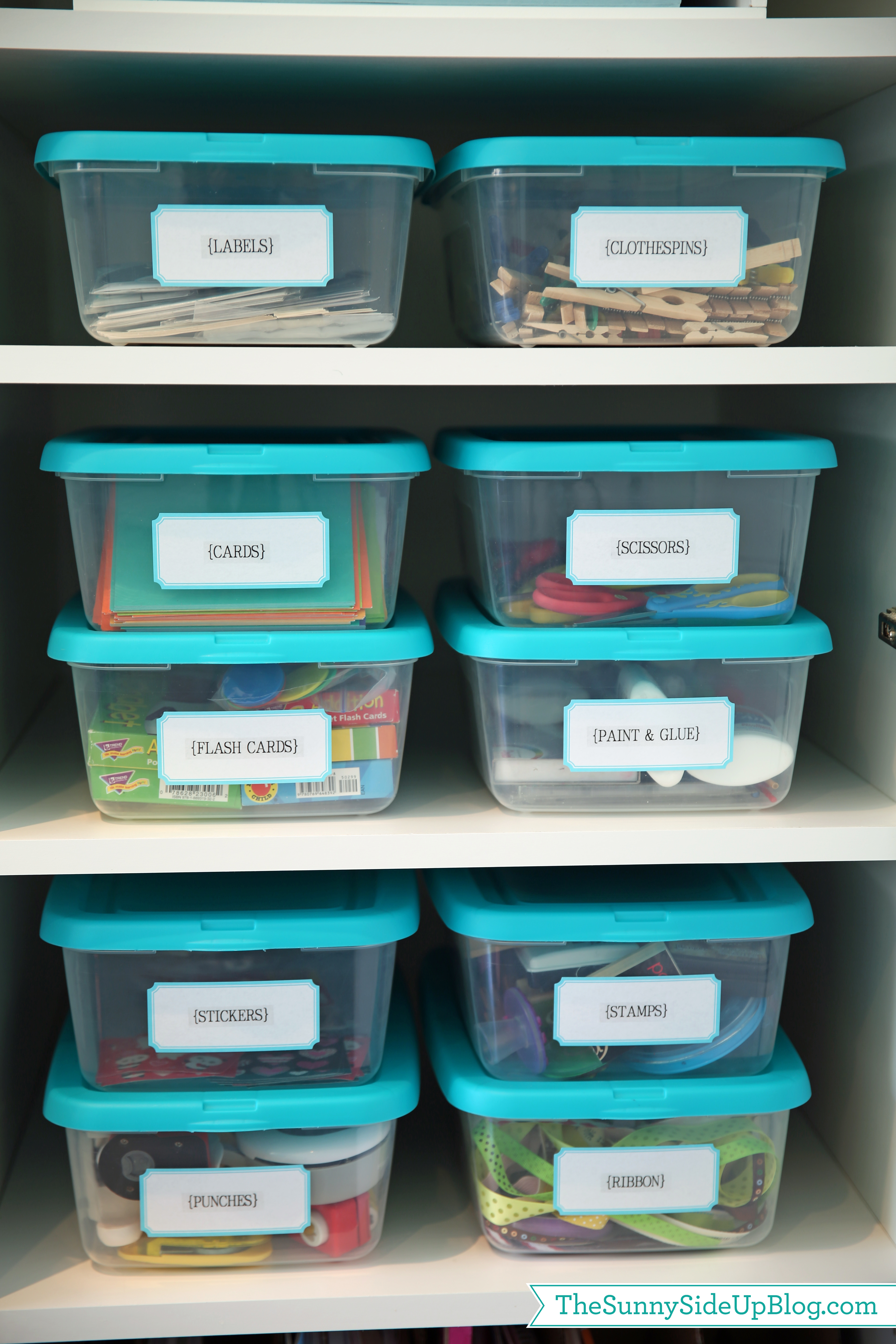 Storage containers for crafts organize craft supplies