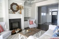 Fall (and chairs!) in the formal living room - The Sunny ...