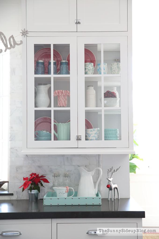Kitchen Christmas Decor! - The Sunny Side Up Blog - christmas kitchen decor