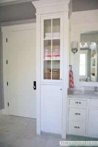 Organized Master Bathroom - The Sunny Side Up Blog