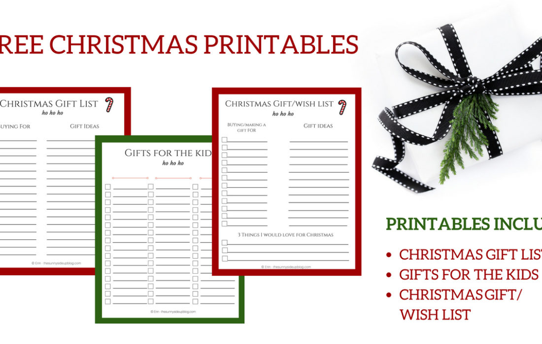 Christmas Archives - The Sunny Side Up Blog - free christmas wish list