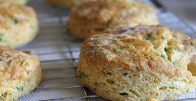 Cheddar Chive Biscuits