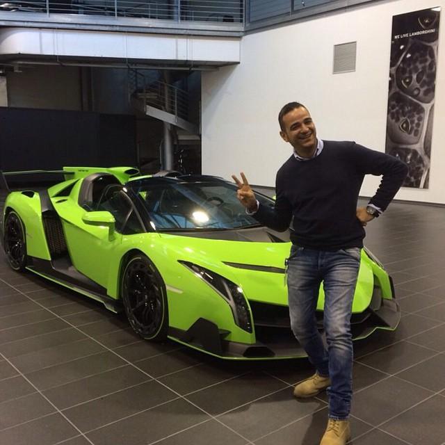 Kris Singh And His Lamborghini Veneno Obsession Continues