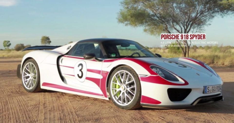 porsche 918 spyder top speed run hits 350 kph. Black Bedroom Furniture Sets. Home Design Ideas