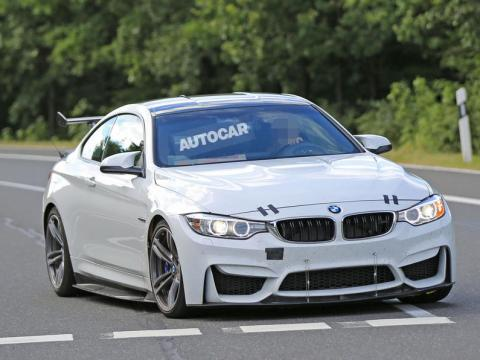 BMW M4 GT4 prototype caught testing-1