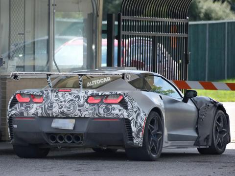 Chevrolet Corvette ZR1 spy shots-2